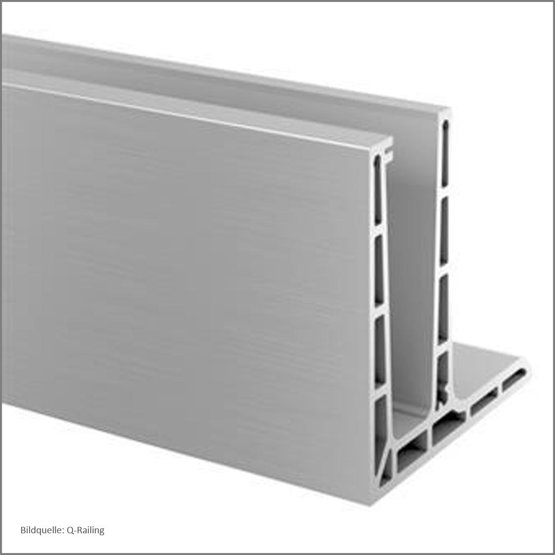 q railing glas 24. Black Bedroom Furniture Sets. Home Design Ideas